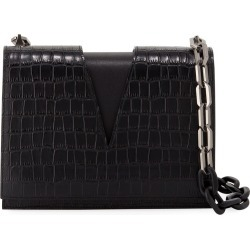 Stamped Croc V-Chain Shoulder Bag found on Bargain Bro India from Bergdorf Goodman for $1296.00