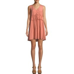 Self-Tie Sleeveless Mini Dress found on MODAPINS from Bergdorf Goodman for USD $209.00