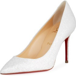 587b8f1a5a3 Decolette 85mm Glitter Red Sole Pumps