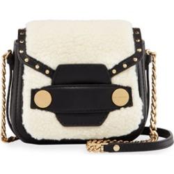 Alter Shearling Fur Free Fur Shoulder Bag, Off White