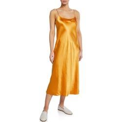 Spaghetti-Strap Satin Slip Dress found on MODAPINS from Bergdorf Goodman for USD $285.00