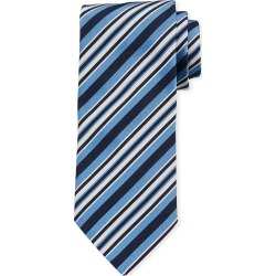 Multi-Stripe Silk Tie, Light Blue found on Bargain Bro India from Bergdorf Goodman for $195.00