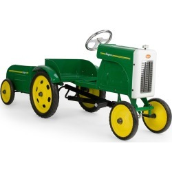 Farmer Tractor & Trailer Ride-On Pedal Car found on Bargain Bro Philippines from Bergdorf Goodman for $420.00