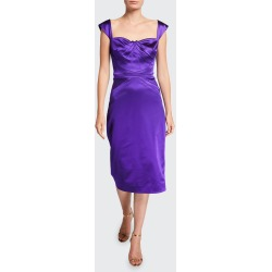 Square-Neck Cocktail Dress found on MODAPINS from Bergdorf Goodman for USD $612.00