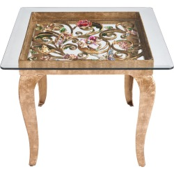 Floral Side Table found on Bargain Bro from Bergdorf Goodman for USD $9,120.00