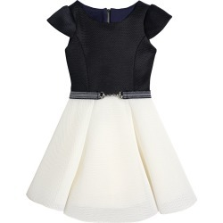 Girl's Emersyn Two-Tone Knit Swing Dress, Size 4-6X found on Bargain Bro India from Bergdorf Goodman for $72.00