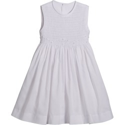 White Smocked Dress, Size 5-6X found on Bargain Bro India from Bergdorf Goodman for $45.00