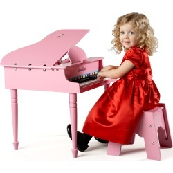 30-Key Mini Grand Piano, Pink found on Bargain Bro Philippines from Bergdorf Goodman for $155.00