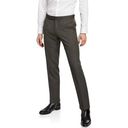 Men's Wool-Blend Flat-Front Pants found on Bargain Bro Philippines from Bergdorf Goodman for $357.00