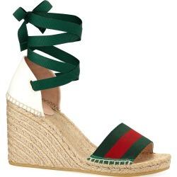 Web Wedge Espadrille Sandals
