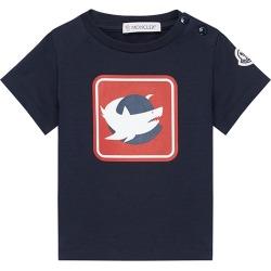 Boy's Shark-Print Crewneck Short-Sleeve Shirt, Size 9M-3 found on Bargain Bro India from Bergdorf Goodman for $120.00