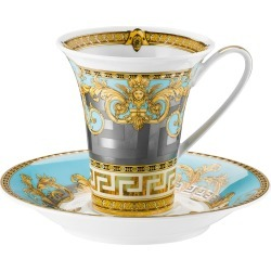 Prestige Gala Bleu Coffee Cup & Saucer found on Bargain Bro India from Bergdorf Goodman for $300.00