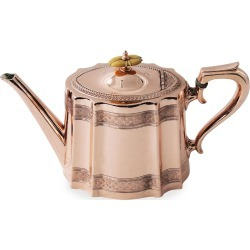 Copper & Silver Coffee/Tea Pot #9 (Late 19th Century) found on Bargain Bro from Bergdorf Goodman for USD $1,189.40