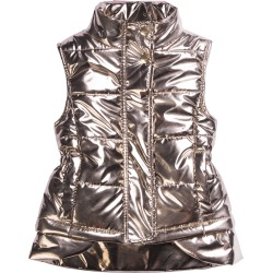 Kid's Metallic Nylon Vest, Size 7-14 found on Bargain Bro Philippines from Bergdorf Goodman for $93.00