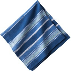 Indigo Stripe Napkin found on Bargain Bro Philippines from Bergdorf Goodman for $15.00