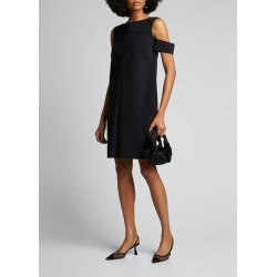 Cold-Shoulder Cocktail Dress found on MODAPINS from Bergdorf Goodman for USD $265.00