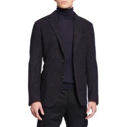 Men's Melange Alpaca Two-Button Jacket found on Bargain Bro India from Bergdorf Goodman for $1347.00