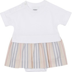 Girl's Ruby Jersey Bodysuit w/ Icon Stripe Skirt, Size 3-18 Months found on Bargain Bro India from Bergdorf Goodman for $170.00