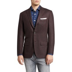 Men's Tic-Pattern Two-Button Jacket found on Bargain Bro Philippines from Bergdorf Goodman for $4181.00