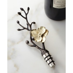 Gold Orchid Wine Stopper found on Bargain Bro from Bergdorf Goodman for USD $45.60