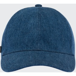 Denim Baseball Hat found on Bargain Bro India from Bergdorf Goodman for $320.00