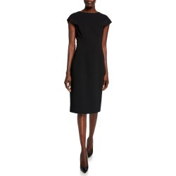 Cap-Sleeve Sheath Cocktail Dress found on MODAPINS from Bergdorf Goodman for USD $2195.00