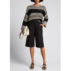 Sequin-Embellished Stripe Sweater found on Bargain Bro India from Bergdorf Goodman for $1995.00