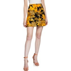 Floral Print Mini Skirt found on Bargain Bro India from Bergdorf Goodman for $301.00