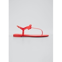 Clarita Jelly Knot Thong Sandals found on Bargain Bro India from Bergdorf Goodman for $118.00