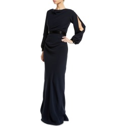 Open-Sleeve Cowl-Neck Silk Gown found on MODAPINS from Bergdorf Goodman for USD $5500.00