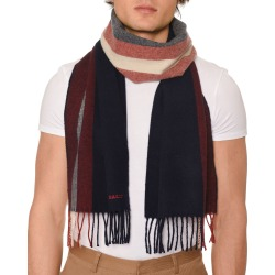 Men's Striped Fringe Scarf found on MODAPINS from Bergdorf Goodman for USD $250.00