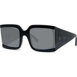 Square Shield Acetate Sunglasses