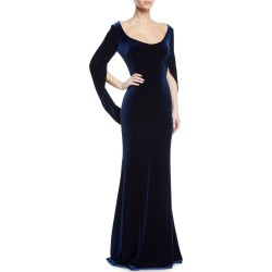 Velvet Cowl-Sleeve Gown found on MODAPINS from Bergdorf Goodman for USD $323.00