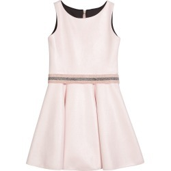 Girl's Beth Metallic Faux Suede Belted Skater Dress, Size 7-16 found on Bargain Bro India from Bergdorf Goodman for $70.00