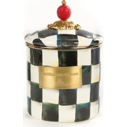 Courtly Check Small Canister found on Bargain Bro India from Bergdorf Goodman for $88.00