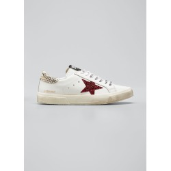 Glitter Star Low-Top Sneakers found on Bargain Bro India from Bergdorf Goodman for $495.00