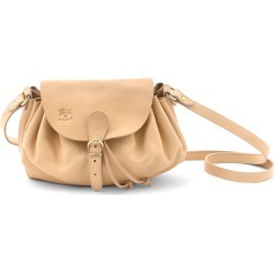 Ruched Drawstring Leather Crossbody Bag found on MODAPINS from Bergdorf Goodman for USD $380.00