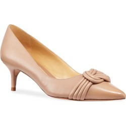 Vicky Smooth Kitten-Heel Pumps found on Bargain Bro India from Bergdorf Goodman for $238.00