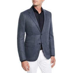 Men's Tic Wool-Silk Jacket found on Bargain Bro Philippines from Bergdorf Goodman for $977.00