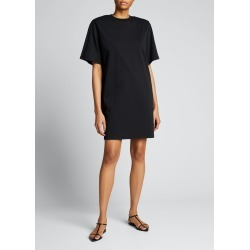 Melanie Strong-Shoulder T-Shirt Dress found on MODAPINS from Bergdorf Goodman for USD $195.00