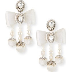 Camille Pearl Bow Clip Earrings found on Bargain Bro India from Bergdorf Goodman for $400.00