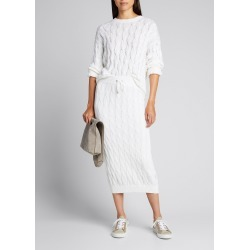Cable-Knit Midi Skirt found on Bargain Bro India from Bergdorf Goodman for $1995.00