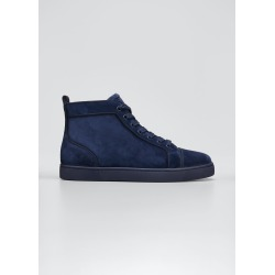 Men's Louis Orlato Tonal Suede Mid-Top Sneakers found on Bargain Bro Philippines from Bergdorf Goodman for $895.00