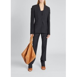 Square-Shoulder Blazer Jacket found on MODAPINS from Bergdorf Goodman for USD $2560.00