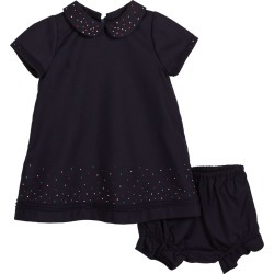 Embroidered Dot Collared Dress w/ Bloomers, Size 4-6X found on Bargain Bro Philippines from Bergdorf Goodman for $49.00