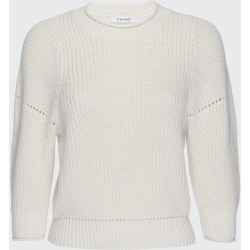 Drop Needle Cotton-Cashmere Crewneck Sweater found on Bargain Bro Philippines from Bergdorf Goodman for $118.00