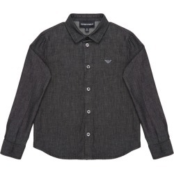 Boy's Chambray Button Down Shirt, Size 4-16 found on Bargain Bro India from Bergdorf Goodman for $185.00