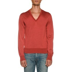 Men's Long-Sleeve V Neck Shirt found on Bargain Bro India from Bergdorf Goodman for $710.00