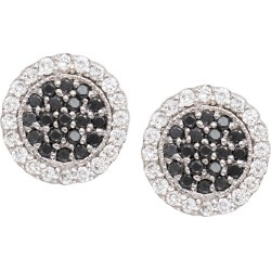 Scallop Pave Black & White Diamond Earrings found on Bargain Bro Philippines from Bergdorf Goodman for $2740.00