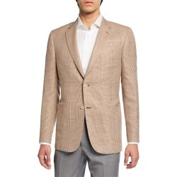 Men's Plaid Two-Button Jacket found on Bargain Bro Philippines from Bergdorf Goodman for $2532.00